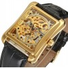Montre squelette mécanique Winner Skeleton Lofty Gold
